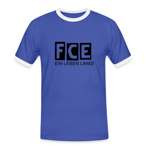FCE Fan Shirt - Männer Kontrast-T-Shirt