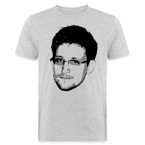 Edward Snowden - Männer Bio-T-Shirt