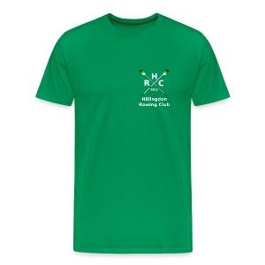 Men's Single Logo - Green - Men's Premium T-Shirt