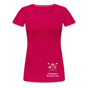 Women's Single Logo - Pink - Women's Premium T-Shirt