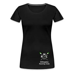 Women's Single Logo - Black - Women's Premium T-Shirt