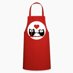 Valentine's Day Owls  Aprons