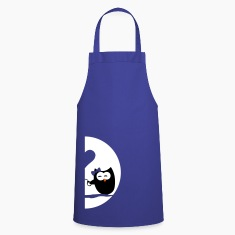 Owls left - Valentine's Day  Aprons