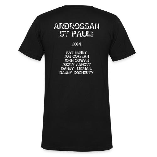 Ardrossan St.Pauli 2014 named - Men's Organic V-Neck T-Shirt by Stanley & Stella