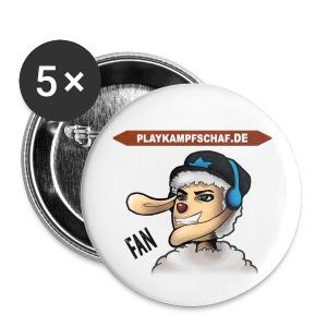 PlayKampfschaf - Buttons - Buttons mittel 32 mm