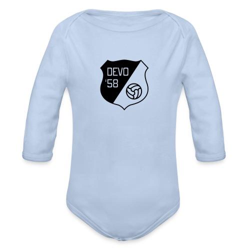 Delobel Jr. - Baby bio-rompertje met lange mouwen