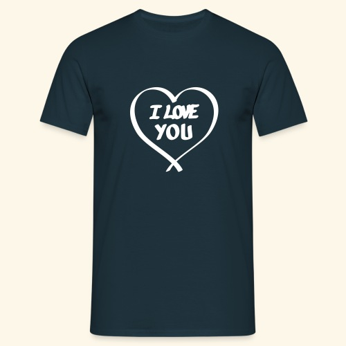 I Love you - T-shirt Homme