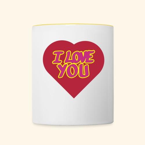 i love you 3 couleurs personnalisables