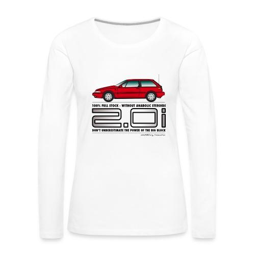 T-shirt manches longues femme Big Block - T-shirt manches longues Premium Femme