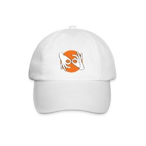 Deaf Interpreter white / orange - Baseballkappe