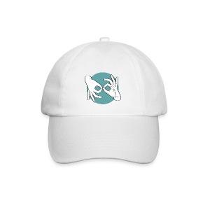 Deaf Interpreter white / green - Baseballkappe