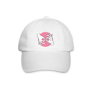 Deaf Interpreter white / pink - Baseballkappe