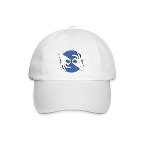 Deaf Interpreter white / blue - Baseballkappe
