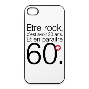 20 ans - Coque rigide iPhone 4/4s