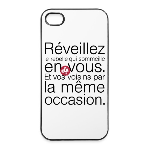 Rebelle - Coque rigide iPhone 4/4s