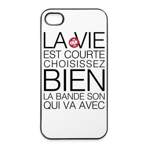 Bande son - Coque rigide iPhone 4/4s
