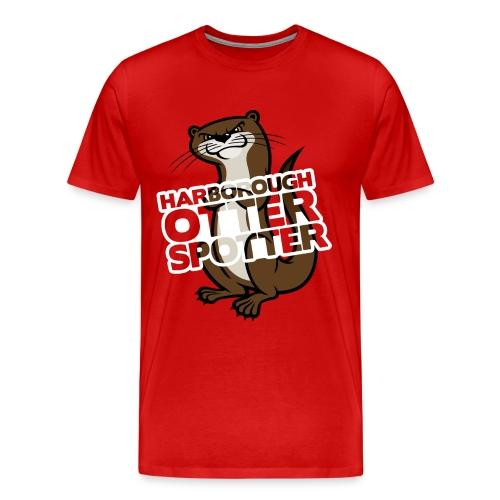 Harborough Otter Spotter Mens Tshirt - Men's Premium T-Shirt