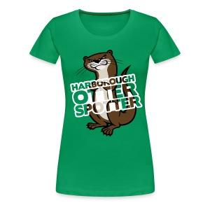 Harborough Otter Spotter Womens Tshirt - Women's Premium T-Shirt