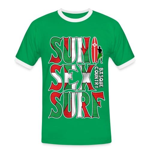 Basque surfing - Men's Ringer Shirt