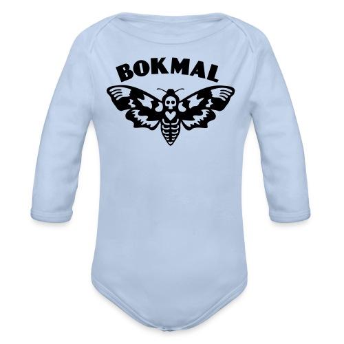 BOKMAL - Ekologisk långärmad babybody