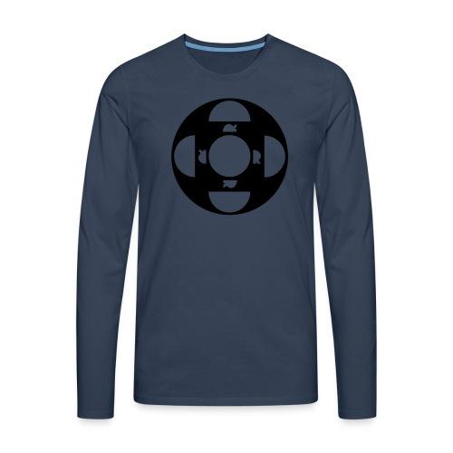 ORDTOMBOLA - Långärmad premium-T-shirt herr