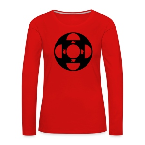 ORDTOMBOLA - Långärmad premium-T-shirt dam