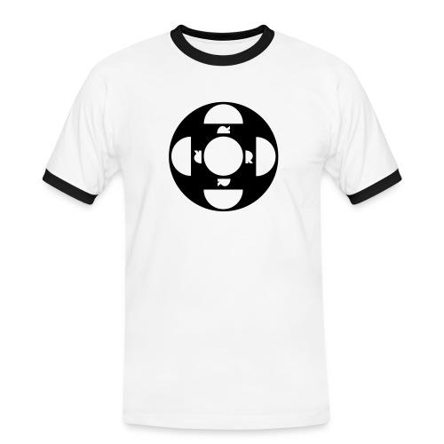 ORDTOMBOLA - Kontrast-T-shirt herr
