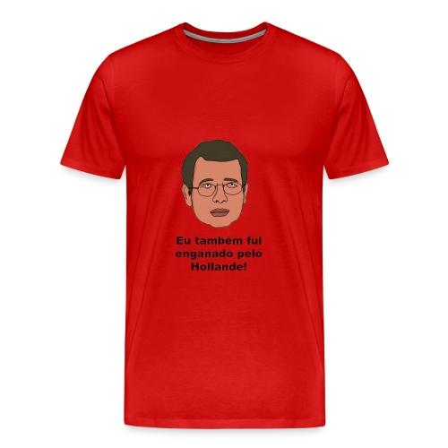 T-Shirt de homem Vermelho Enganado - Men's Premium T-Shirt