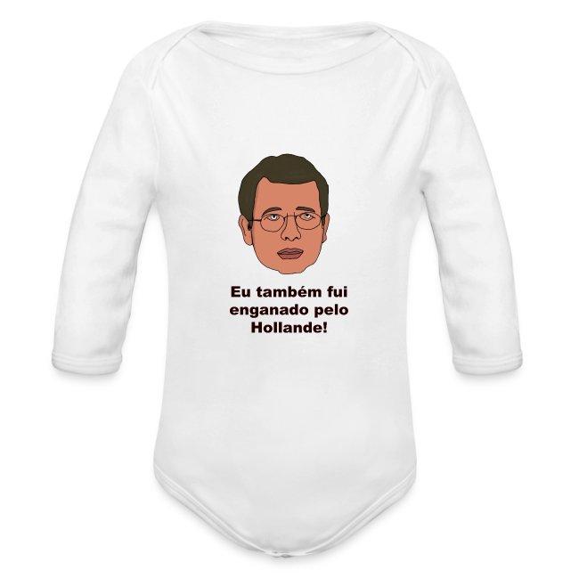 Babygrow para bebé Enganado por Hollande