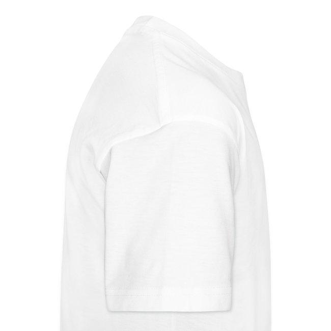 T-Shirt de homem Branca Enganado