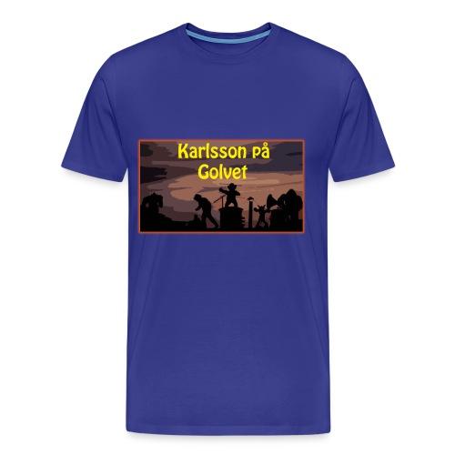 Karlsson på Golvet! (HERR) - Premium-T-shirt herr
