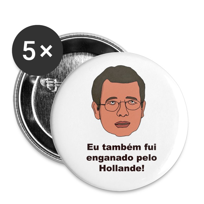Pins Enganado - Buttons medium 32 mm