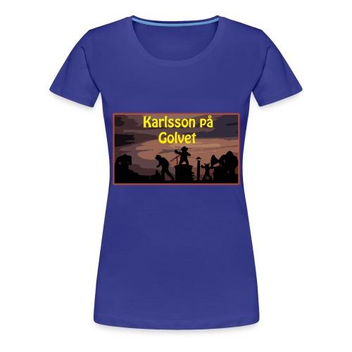 Karlsson på Golvet! (DAM) - Premium-T-shirt dam