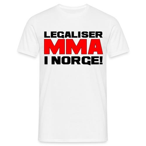 Legaliser MMA i Norge! - T-skjorte for menn