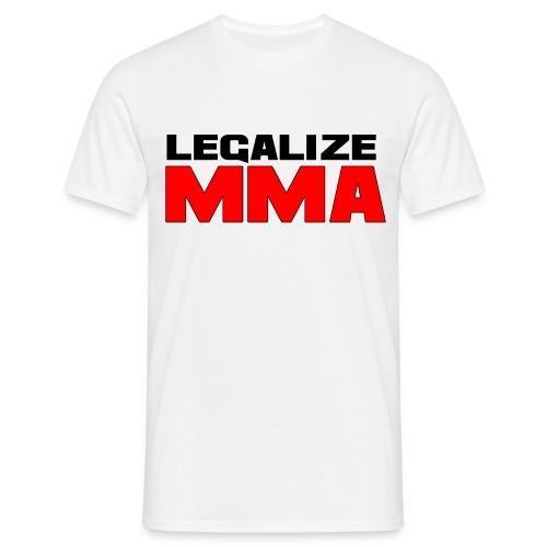 Support your local fighter - T-skjorte for menn