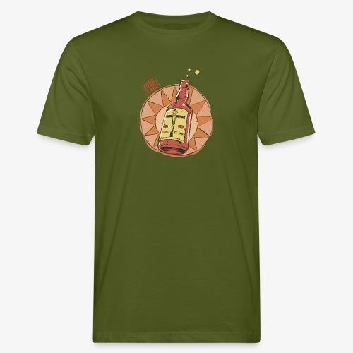 HERR LERbS: Jesus gelöst in Alkohol (Illustration: Jan Bintakies) - Männer Bio-T-Shirt