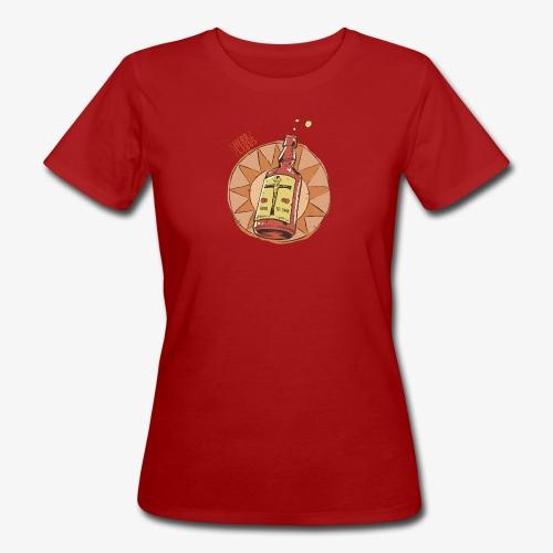 HERR LERbS: Jesus gelöst in Alkohol (Illustration: Jan Bintakies) - Frauen Bio-T-Shirt