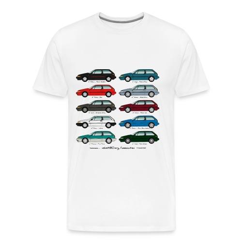 T-shirt homme Wheels grande taille - T-shirt Premium Homme
