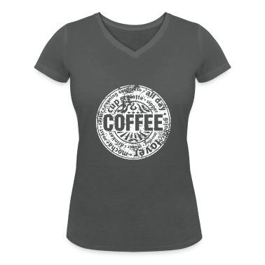 Coffee lover worn out t shirts t shirt spreadshirt for How to get coffee out of shirt