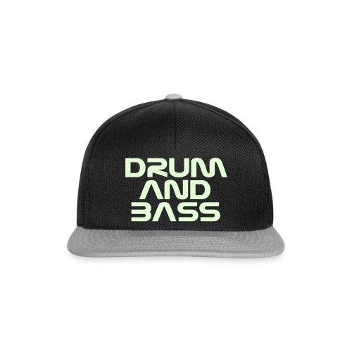 Drum and Bass Glow Snapback - Snapback Cap