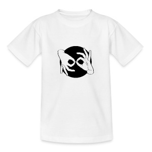 Deaf Interpreter white / black - Kinder T-Shirt