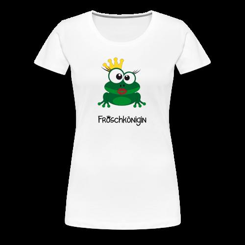 Damenshirt Froschkönigin - Frauen Premium T-Shirt