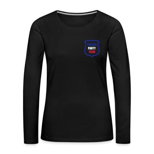 tee shirt  mange longue  - T-shirt manches longues Premium Femme