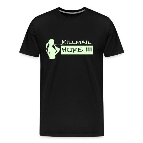 Killmail Hure, nightglow - Männer Premium T-Shirt