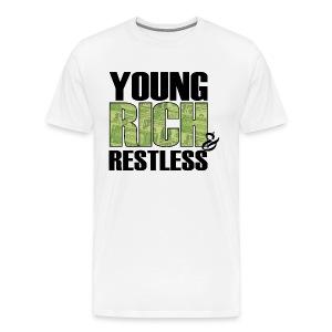 YR&R Mannen T-Shirt zwarte tekst - Mannen Premium T-shirt