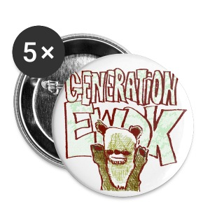 generation ewok - Buttons small 25 mm