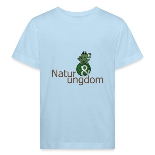 Økologisk Børne t-shirt logo m. frø - Organic børne shirt