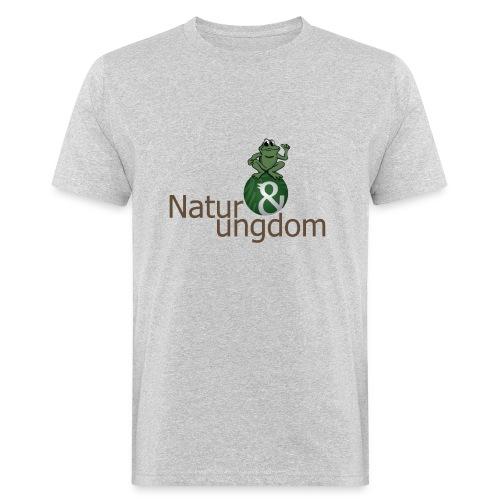Økologisk Herre t-shirt logo m. frø - Organic mænd