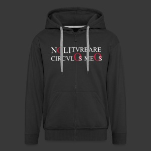 NOLI TURBARE CIRCULOS MEOS - Men's Premium Hooded Jacket