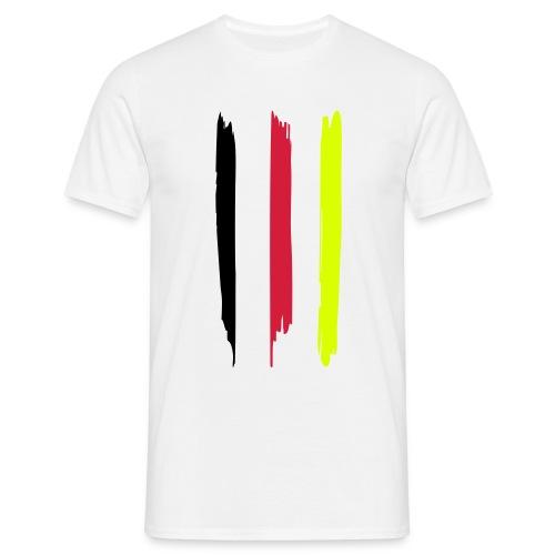 Deutschland Streifen - Männer T-Shirt